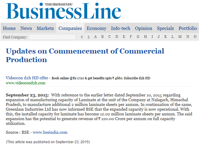 The Hindu Business Line (Business Site)